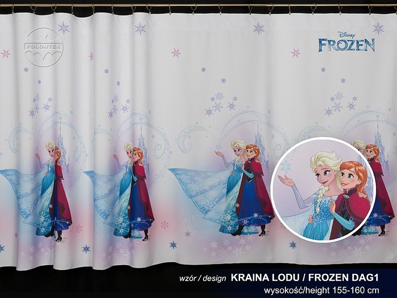Firana Wowalowa Dziecięca Frozen Kraina Lodu Dag1