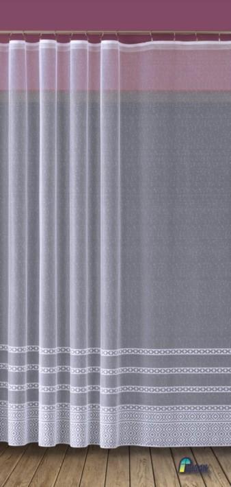 Firana Gotowa Z Taśmą Marokańska Koniczyna Krótka 618d291