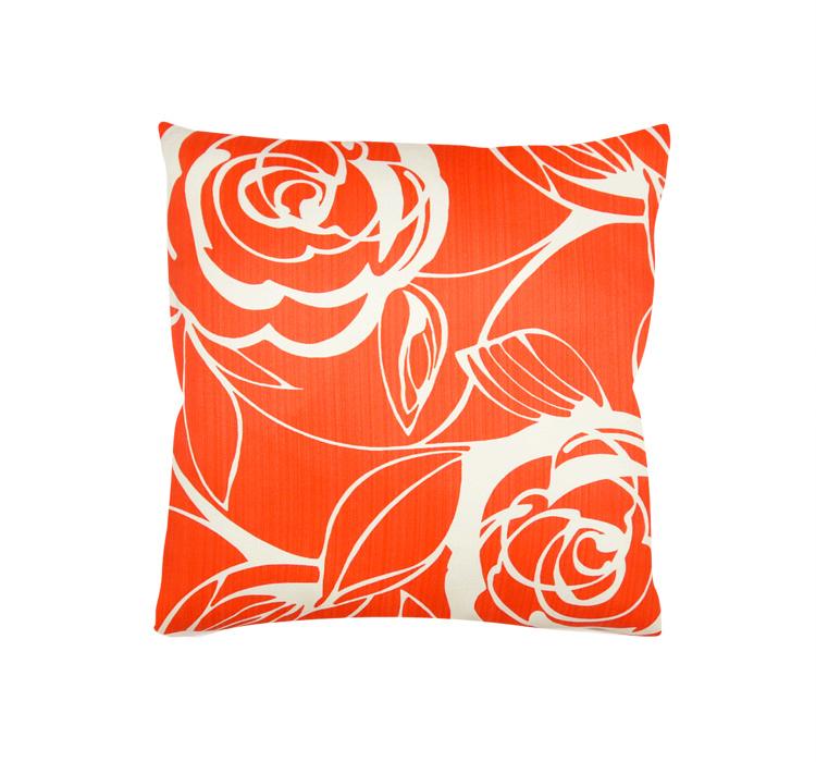 Poszewka Dekoracyjna Czerwone Kwiaty 32455 001
